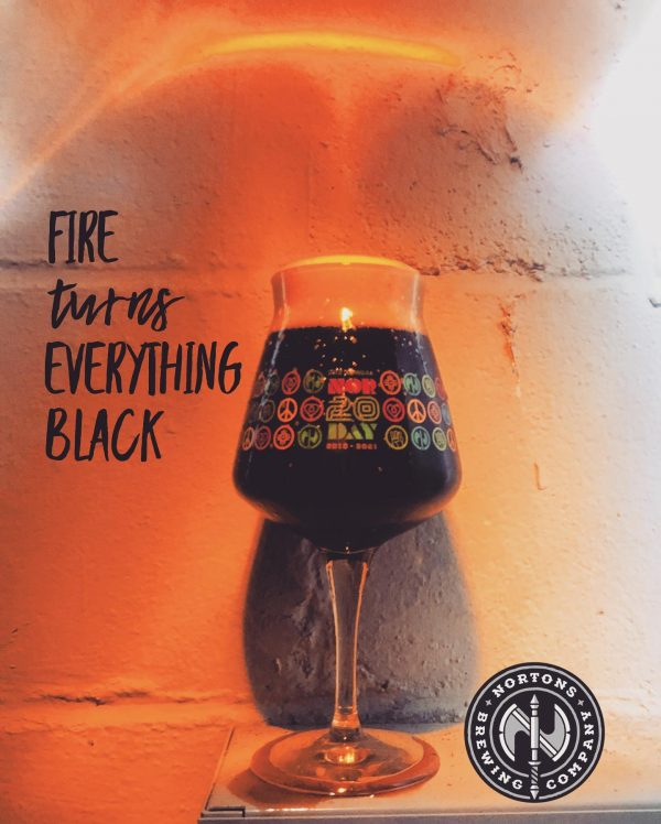 Fire Turns Everything Black